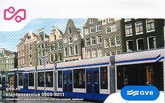 Communication of the city: Amsterdam (Holandia) - ticket abverse
