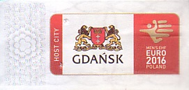 Communication of the city: Gdańsk (Polska) - ticket reverse